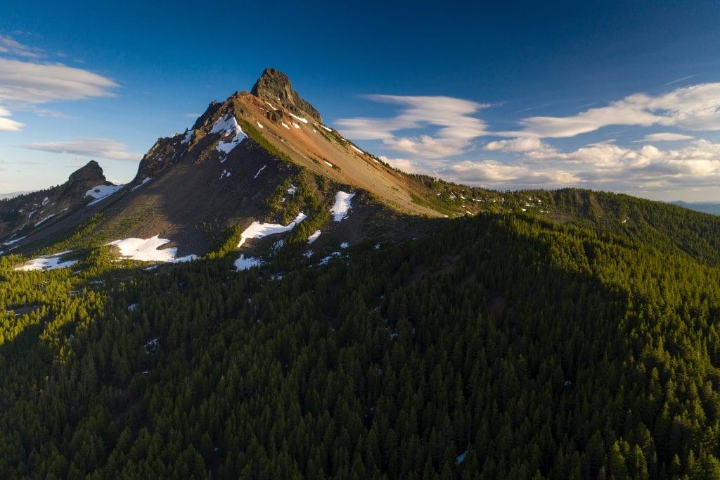 Montanha sofre com as mudanças climáticas